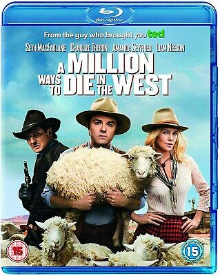 A Million Ways to Die in the West (with UltraViolet Copy) [Blu-ray]