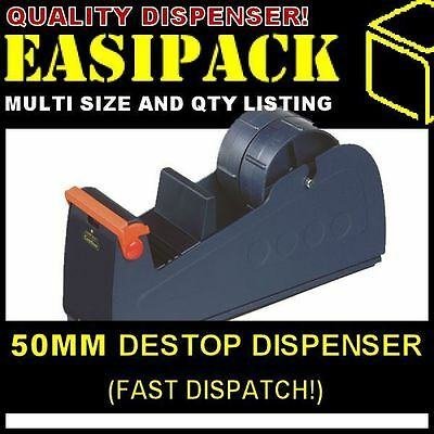 50mm Packing Tape Desktop Bench Dispenser - BD50