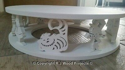 Cake Stand Wooden Alice Theme