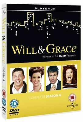 Will and Grace: The Complete Series 4 (Box Set) [DVD]