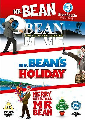 Mr Bean: The Ultimate Disaster Movie/Mr Bean's Holiday/Merry... (Box Set) [DVD]