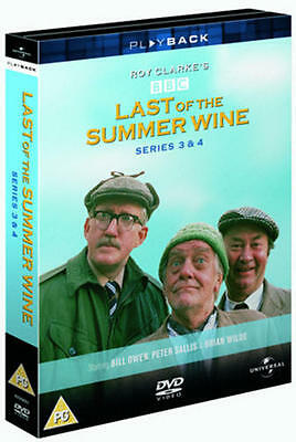 Last of the Summer Wine: The Complete Series 3 and 4 (Box Set) [DVD]