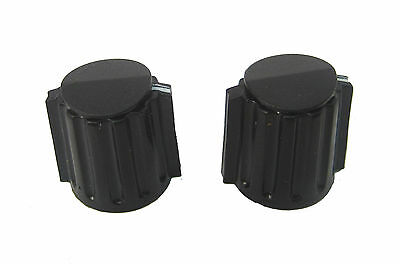 ".58"" Dia. Collet Knobs (No Side Set Screws) for 1/8"" Shafts: Hard to Find: 2/Lot"