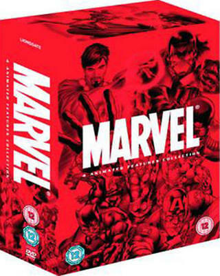 Marvel Animated Movie Collection [DVD]