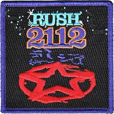 Rush - 2112 - Embroidered Patch - Brand New - Music Band 4160