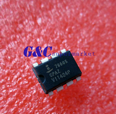 5PCS ICL7660SCPA ICL7660 DIP-8 Super Voltage Converter NEW IC NEW