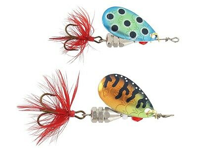 Spinning lure bait Köder Balzer Colonel Reality 3D Lead-Head Spinner 4g