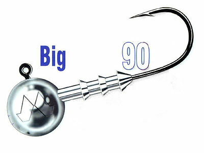 Mustad Big Game 90 - size #8/0 / jig heads / 10-100g / 3pcs. per pack