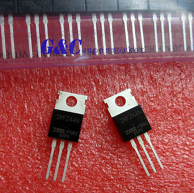 50PCS IRFZ44N IR TO-220 N-Channel 49A 55V Transistor MOSFET NEW GOOD QUALITY T6