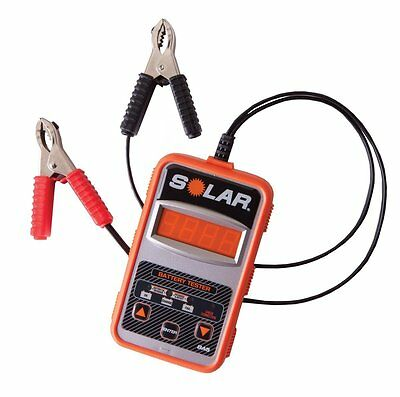 SOLAR BA5 100-1200 Cold Cranking Amps Electronic Battery Tester IAB