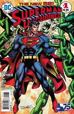Superman Unchained (2013-2015) #1 (1:50 Neal Adams Variant)