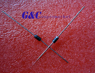 500PCS UF4007 DIODE Fast Recovery Diodes 1000V 1A DO-41 MIC NEW