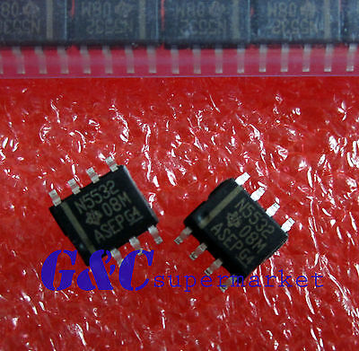 10Pcs NE5532 SOP-8  Dual Low Noise Op-Amp IC NEW GOOD QUALITY S2