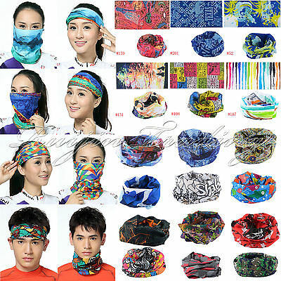 New 2015 Cycling Bicycle Outdoor Sport Multi Head Scarf Magic Headband Face Mask