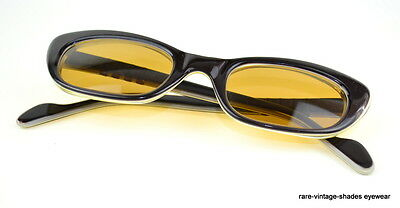 0513e5a39a9 Orig NOS 1960s Vintage PERSOL RATTi   611 Sunglasses Italy Woman S Ruby  Cat-Eye