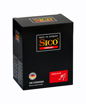 100 SICO Sensitive Kondome gefühlsintensive Condome