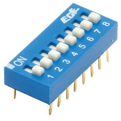 Switch DIL Excel 8 Way 16 Pin Selector (Pack of 2)