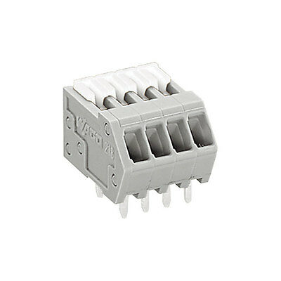 PCB Spring Terminal Block WAGO 2.5/2.54mm 6A 218-502 Cable Wire Connector