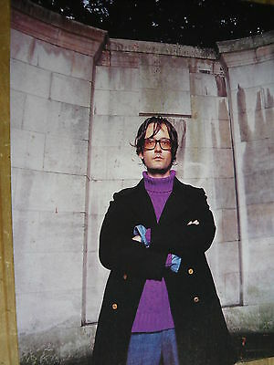 Jarvis Cocker (Pulp) - Magazine Cutting (Full Page Photo) (Ref V7)