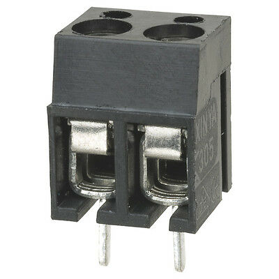 16A Interlocking Terminal Block 4 Way Connector PCB Type Pinch Screw (Pack of 3)