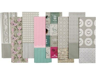 80 Muted Tones Assorted Decopatch Paper Sheets | Decoupage Crafts