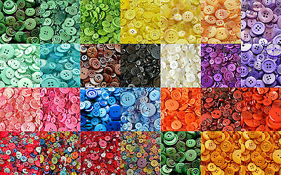 Mixed Resin Buttons, Assorted Arts And Crafts Button,