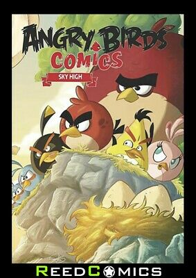 ANGRY BIRDS VOLUME 3 SKY HIGH HARDCOVER New Hardback Collects Issues #9-12