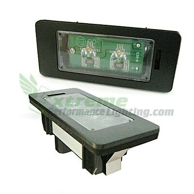 BMW Rear License / Number Plate Lights Upgrade Canbus Xenon White LED Lamp Unit