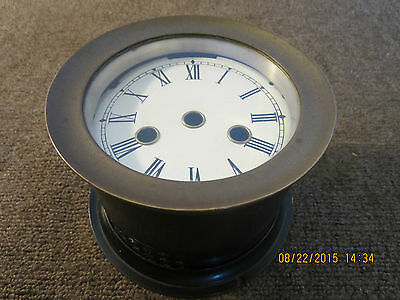 Ship's Chimer Clock, Empty Solid Brass Case