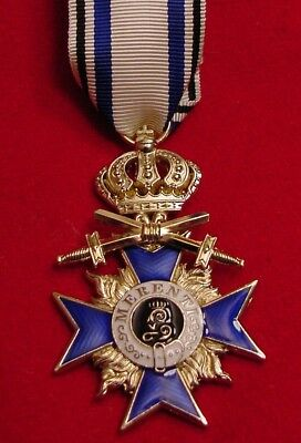 German Wwi Medal Bavaria Military Merit Order 3Rd Class With Crown & Swords