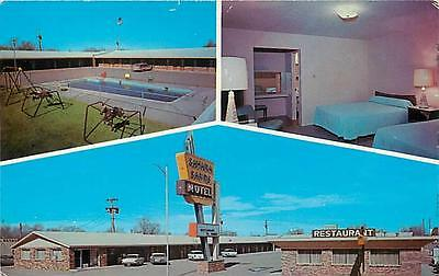 TUCUMCARI, New Mexico  NM  SIERRA SANDS MOTEL 50's carsRt 66  Roadside  Postcard