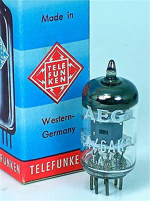NOS TELEFUNKEN 5654 6AK5W EF95 WestGERMAN< >Tube for CU-29 COPPERHEAD MICROPHONE