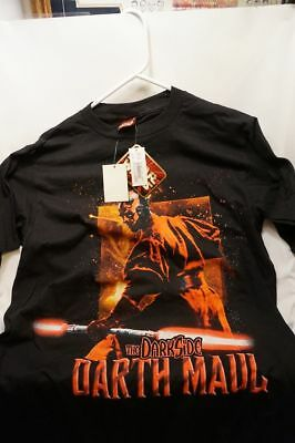 YOW!!  DARTH MAUL Dark Side Star Wars SHIRT ~ ADULT XL ~ New NEVER WORN W Tags