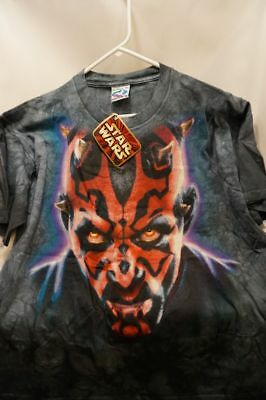 DARTH MAUL Portrait TIE DYE Star Wars SHIRT ~ ADULT XL ~ New NEVER WORN w Tag