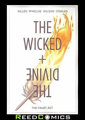 WICKED + THE DIVINE VOLUME 1 THE FAUST ACT GRAPHIC NOVEL New Paperback