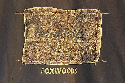 Hard Rock Cafe T-shirt Foxwoods resort casino reservation 2XL