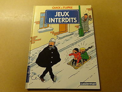 Album Bd / Quick & Flupke 2: Jeux Interdits | Re 1985 Hc
