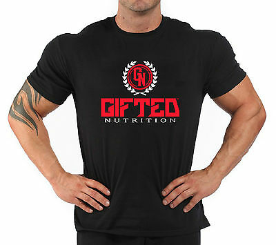 """T-Shirt Bodybuilding Fitness Palestra """"Gifted Nutrition"""""""
