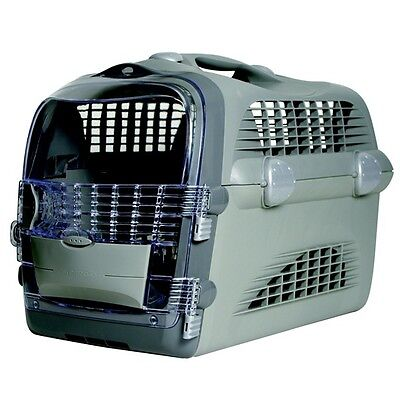 CatIt Cabrio Cat Carrier Small Dog Plastic Crate Airline Approved Up To 25 lb.