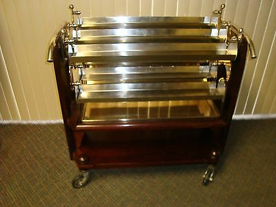 Christofle Silver-Plated Desert Trolley/Cart 1930's Vintage