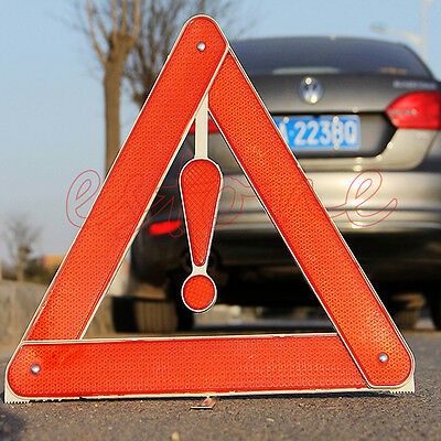 Handy Warning Board Stop Vehicle Rear Danger Reflective Safety Triangle Sign