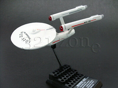 Miniature Star Trek USS Enterprise NCC-1701 Model by F-Toys Scale 1:2500 Kirk