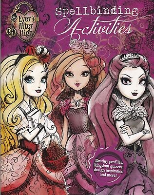 Ever After High Spellbinding Activitiy Book (Paperback) New