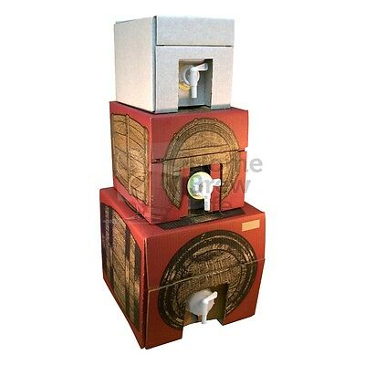 Vinotainer 5, 10, 20 Litre Wine Storage Container Home Brew Wine Making With Tap