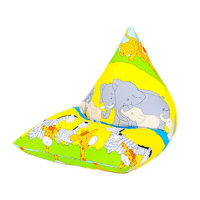 Savannah Large Children's Kids Pyramid Bean Bag Chair Gaming Beanbag Gamer