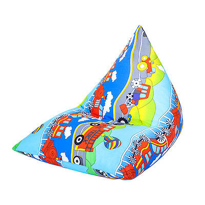 Transport Large Children's Kids Pyramid Bean Bag Chair Gaming Beanbag Gamer