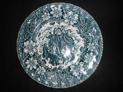 Retro Porcelain Collector Plate Royal Tudor Wear England