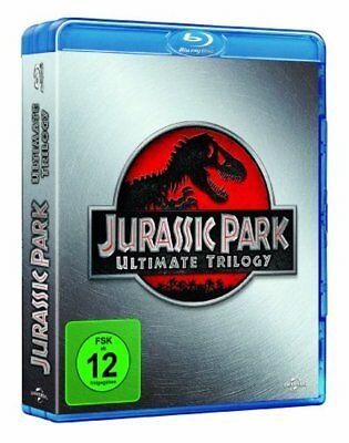 Jurassic Park 1+2+3 - Ultimate Trilogy - BLU-RAY-BOX-NEU