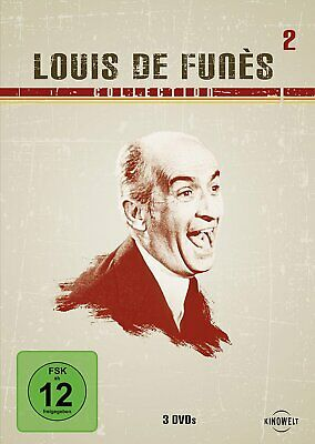 Louis de Funès - Collection Vol. 2 # 3-DVD-BOX-NEU