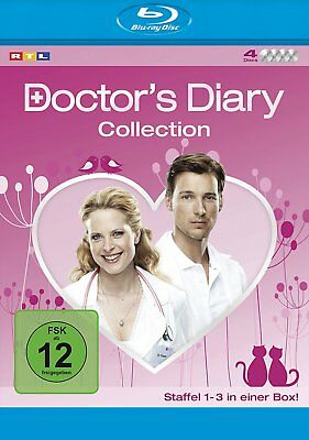 Doctor's Diary - Staffel 1+2+3 Komplettbox - 4-BLU-RAY-BOX-NEU